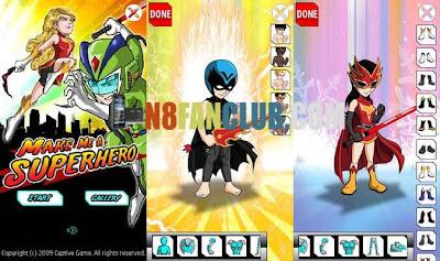 make me a superhero nokia 5230 download