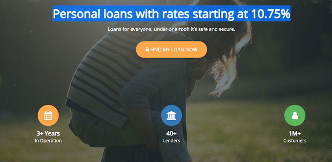 With indialends take Personal loans with rates starting at 10.75%.