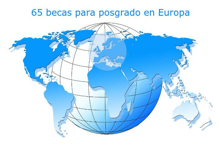 Convocatoria de 65 Becas de la Caixa para realizar posgrado en Europa