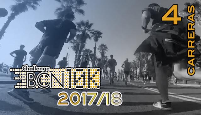 ChallengeBCN10k 2017/18 - 4 carreras
