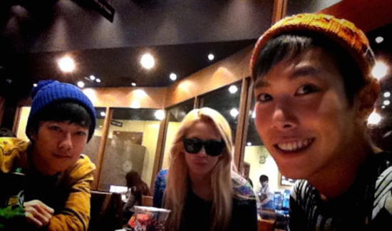 [Pictures] Hyoyeon Selca with Key Joon ~ smtownsnsd.com ...  [Pictures] Hyoy...
