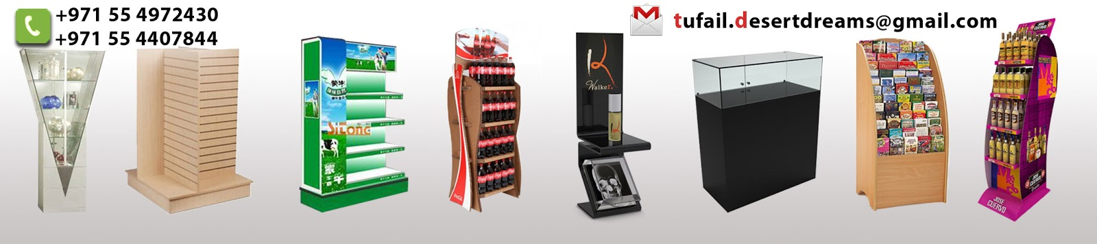 Display Stands in Dubai Display Stands supplier Creative
