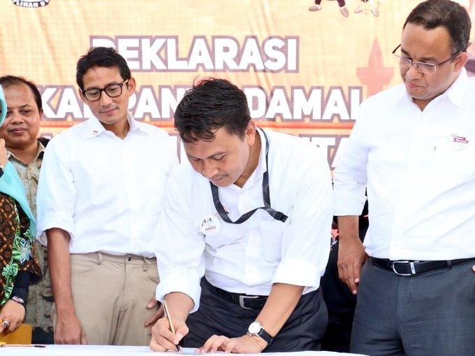 Sandi Diminta Prabowo Jadi Wagub DKI Lagi