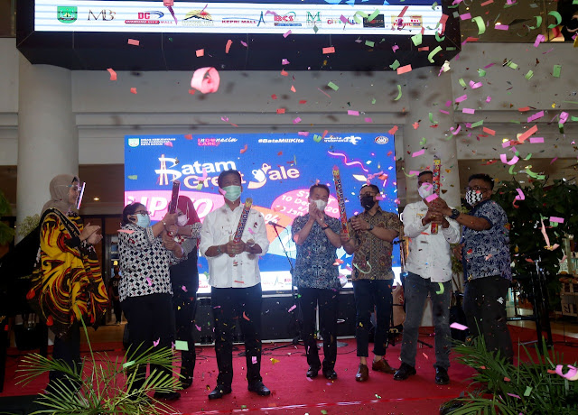 Wali Kota Buka Batam Great Sale 2020 #BataMiliKita