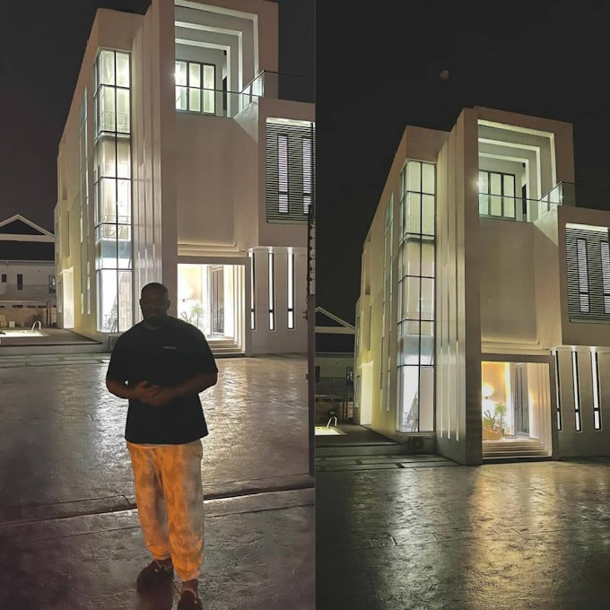 Don Jazzy Shows Off His Stunning New Mansion (Photos)