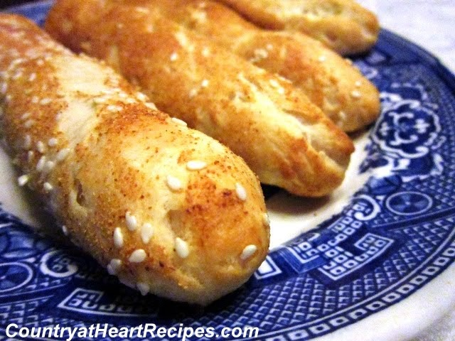 Country at Heart Recipes: Quick and Easy Breadsticks