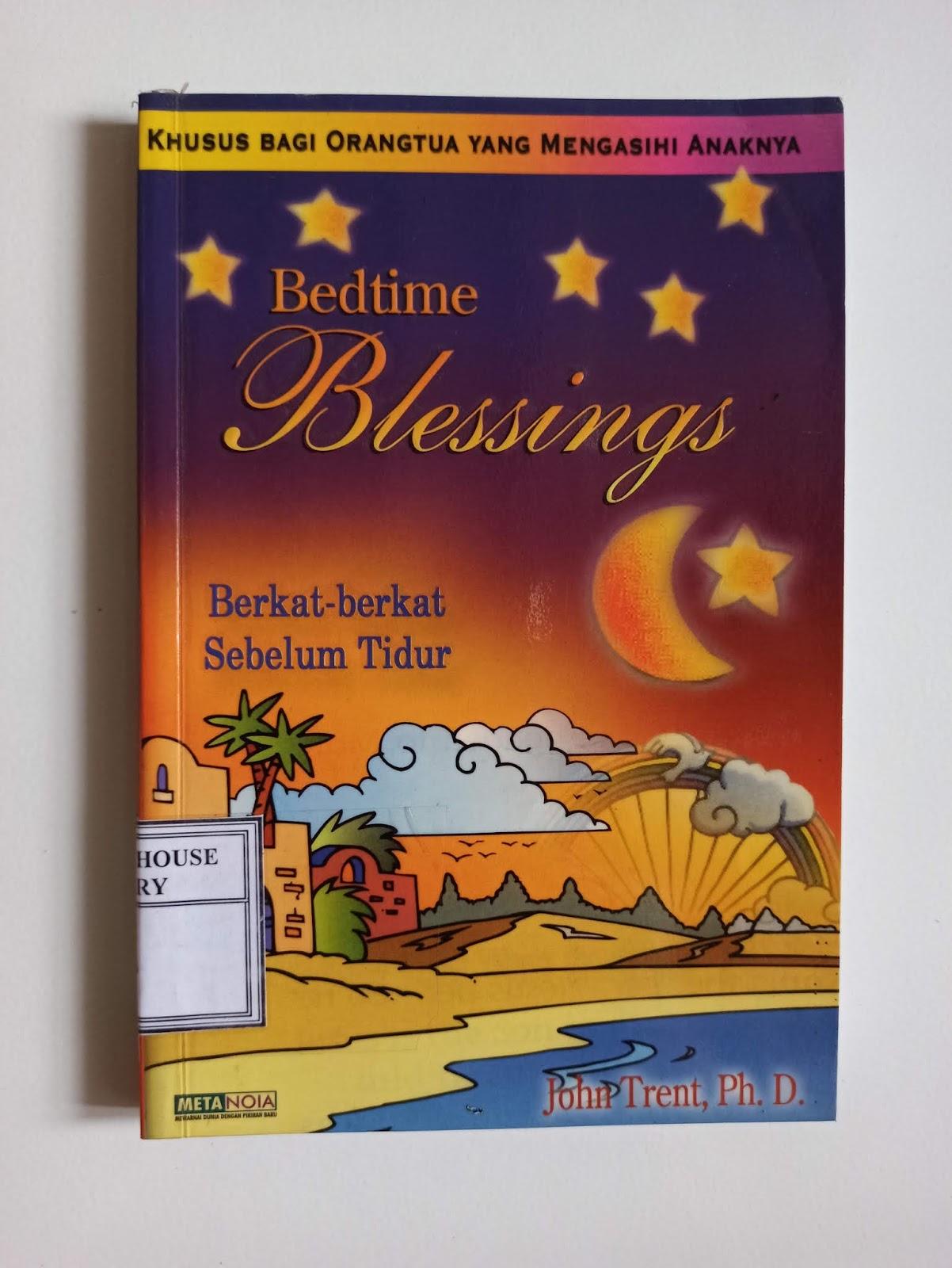 Buku Kristen Bedtime Blessings