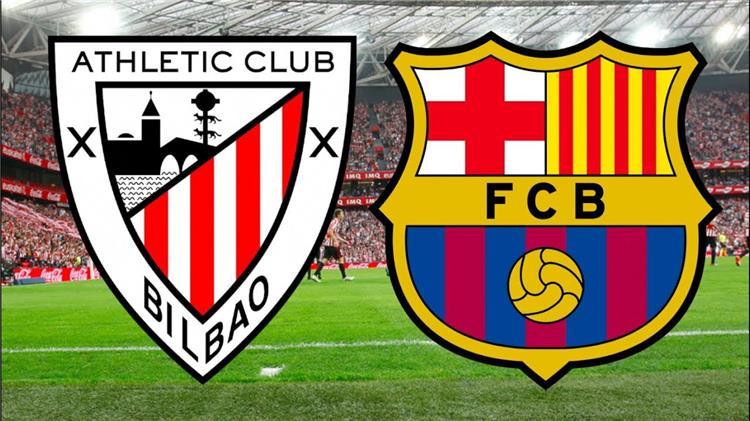 مباراة برشلونة وأتلتيك بلباو اليوم