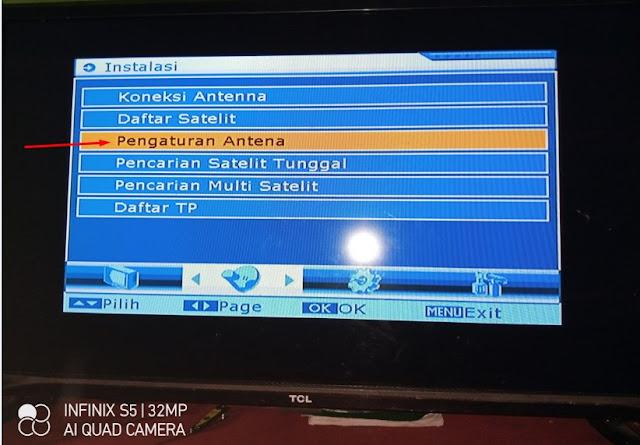 Cara Mencari Scan Indosiar SCTV TVone Receiver Goldsat GSR 7700 Yang Hilang Telkom 4 Parabola Jaring C-band 2 LNB