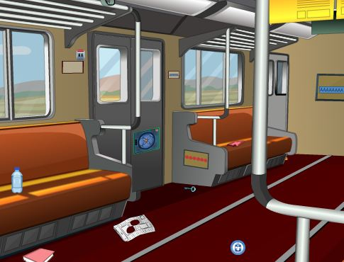 Play EightGames Unlock Train Escape