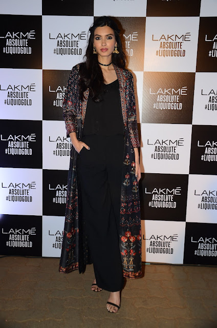 Diana Penty In Anita Dongre At Anita Dongre's LFW 2017 Grand Finale