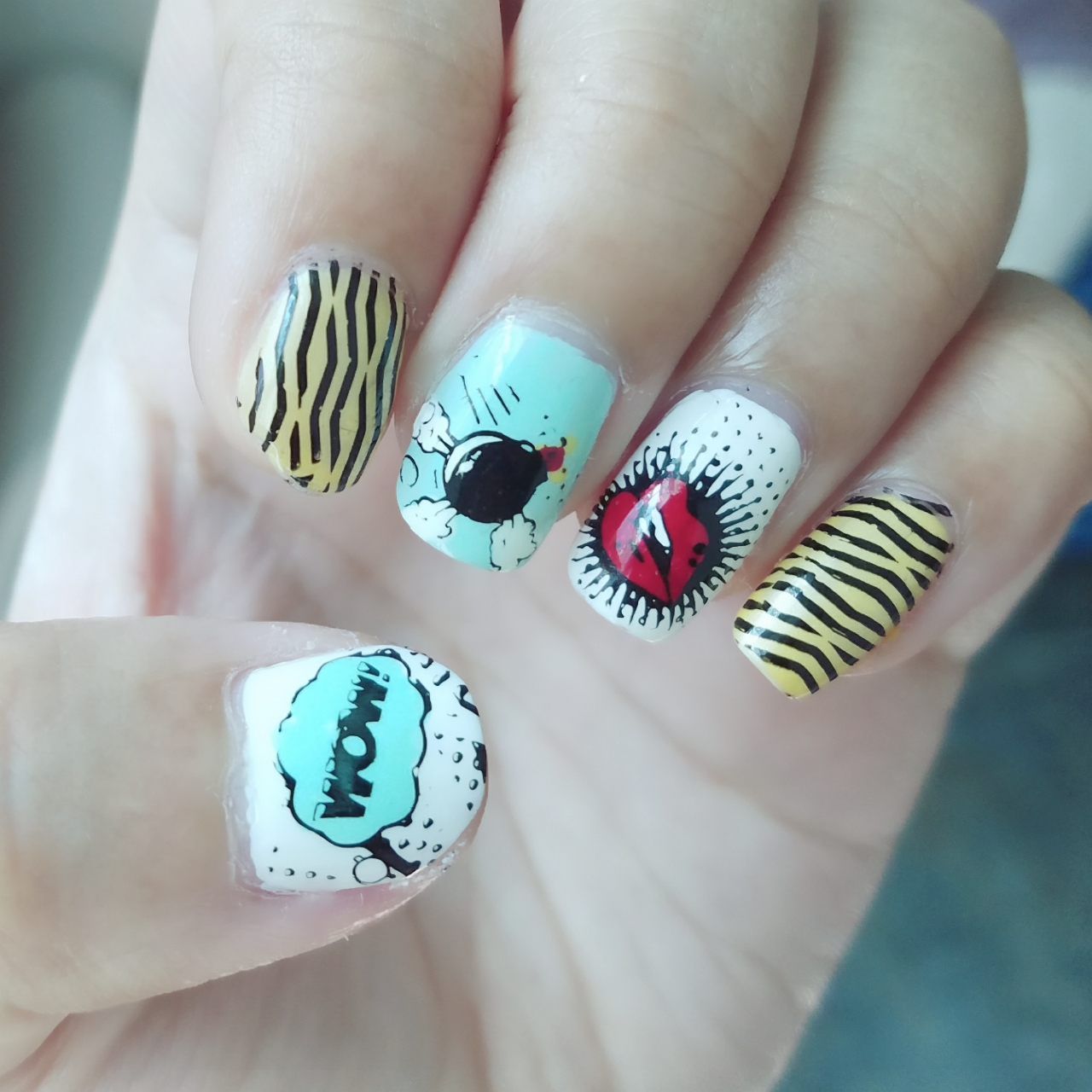 Comic Nail Art With Image Plate Bp L062 Born Pretty Store Review
