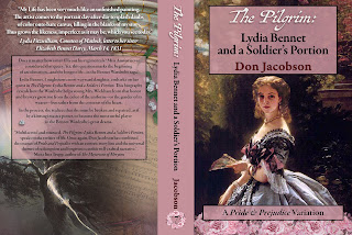 Full Book Cover: The Pilgrim: Lydia Bennet and a Soldier's Portion by Don Jacobson