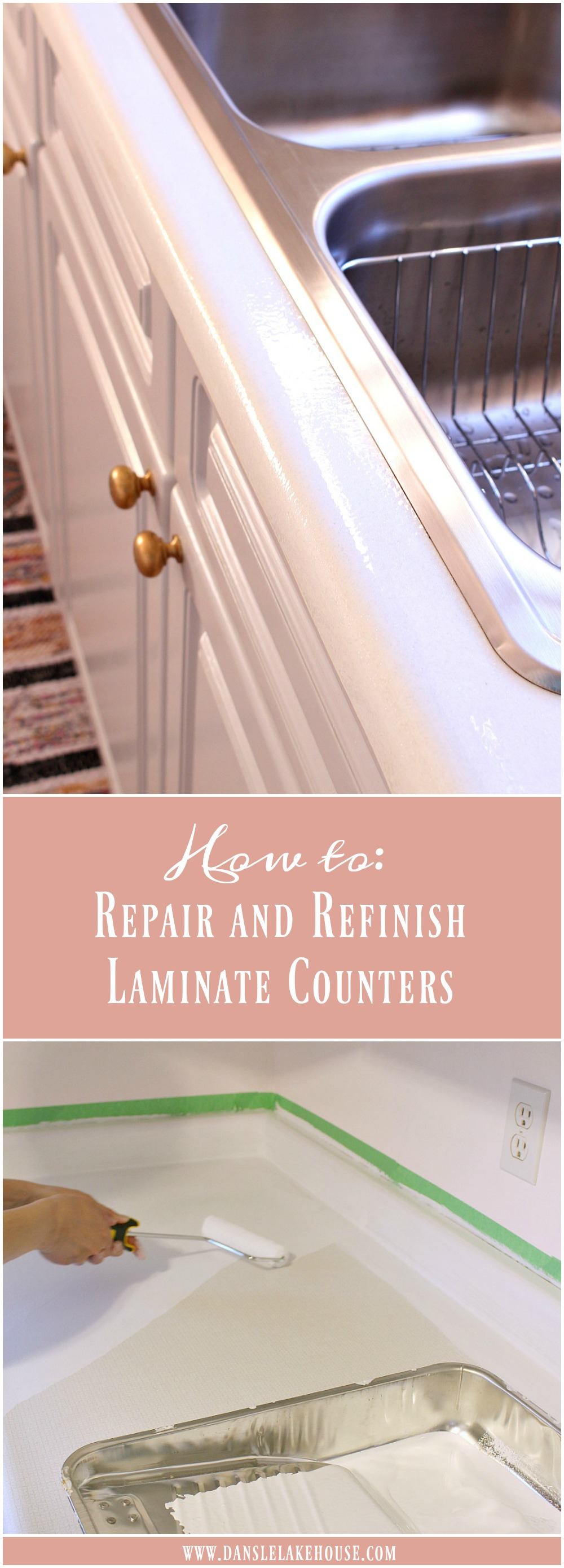 How to Repair and Refinish Laminate Counters