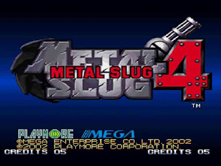 Metal Slug 4 Game Free Download