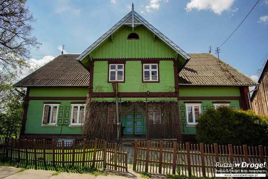 Dom podcieniowy nad Jeziorem Drużno - dawna Karczma