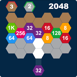 Hexa Attack 2048: Shoot and Merge Numbers