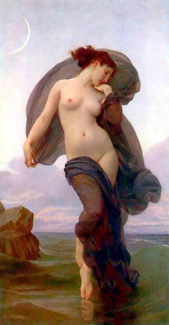 Адольф Вильям Бугро - Вечернее настроение (1882)