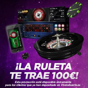 vivelasuerte promocion 100 euros 25-27 enero
