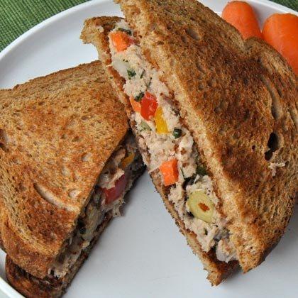 Garden Tuna Sandwich Recipe