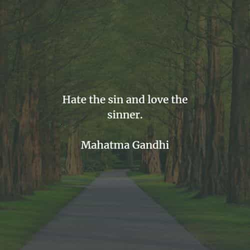 Famous quotes and sayings by Mahatma Gandhi