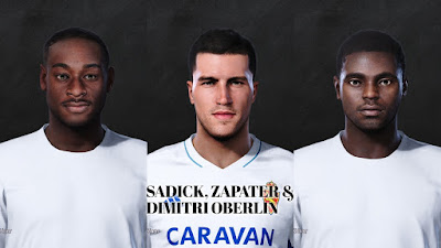 PES 2021 Facepack La Liga SmartBank Vol 17 by Dani