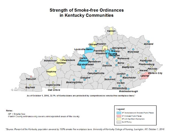 Kentucky Health News: Ky  again No 1 in adult smoking: 25 9