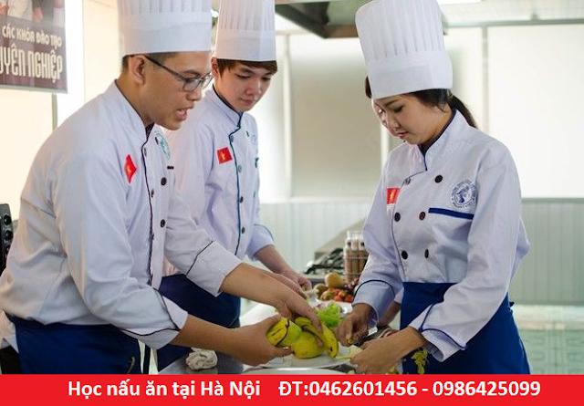 Cao đẳng nấu ăn hệ 1 năm HỌC NHANH