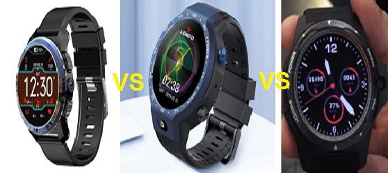 Lemfo LEM9 Vs Kospet Optimus Vs Zeblaze Thor 5 SmartWatch