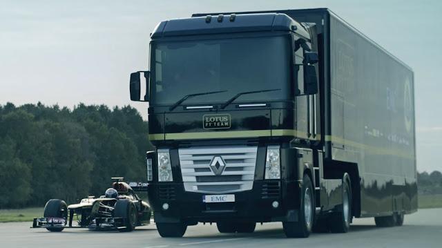 modifikasi truk trailer terbesar