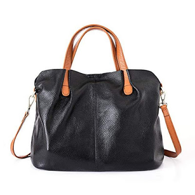 Women Soft Genuine Leather Hobo Handbags Top Handle Satchel Crossbody Shoulder Bag
