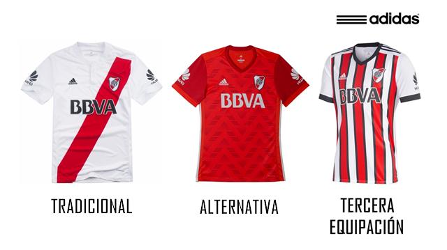 3d3f9aa063a Expediente River: Todas las camisetas de la historia del Club ...