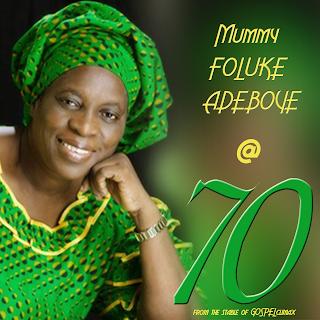 Foluke Adenike Adeboye rccg mother in israel is 70th. rccg 70th birthday