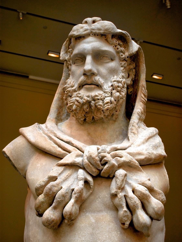 Hércules con la piel de león