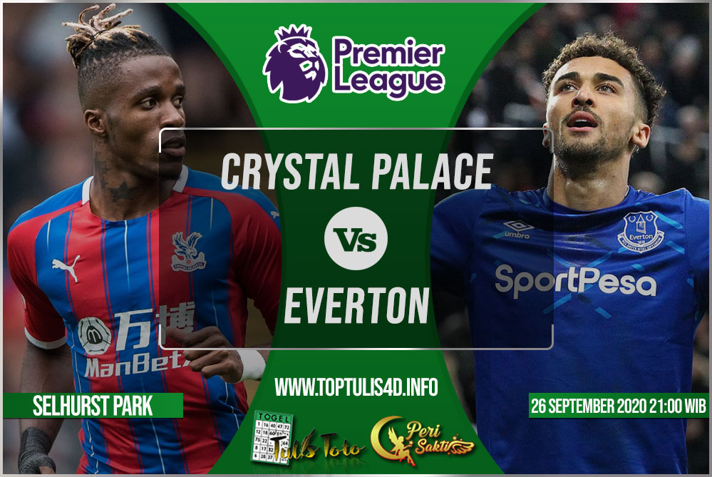 Prediksi Crystal Palace vs Everton 26 September 2020