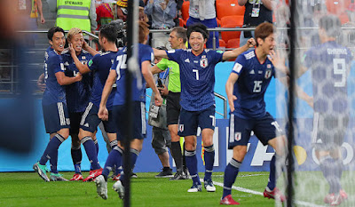 2018FIFAワールドカップ ロシア 日本対セネガル