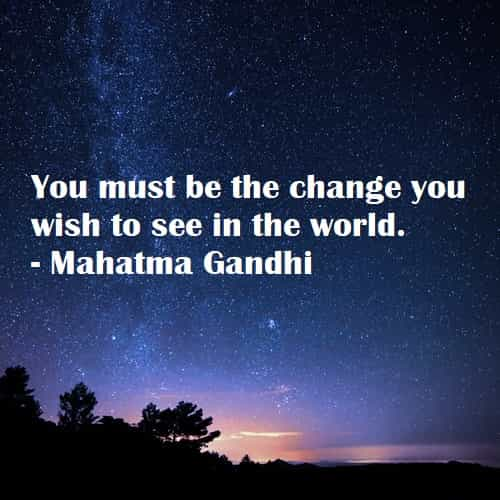 quotes about change the world and making a difference