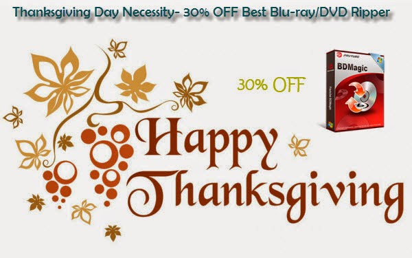 Thanksgiving Promo 2014