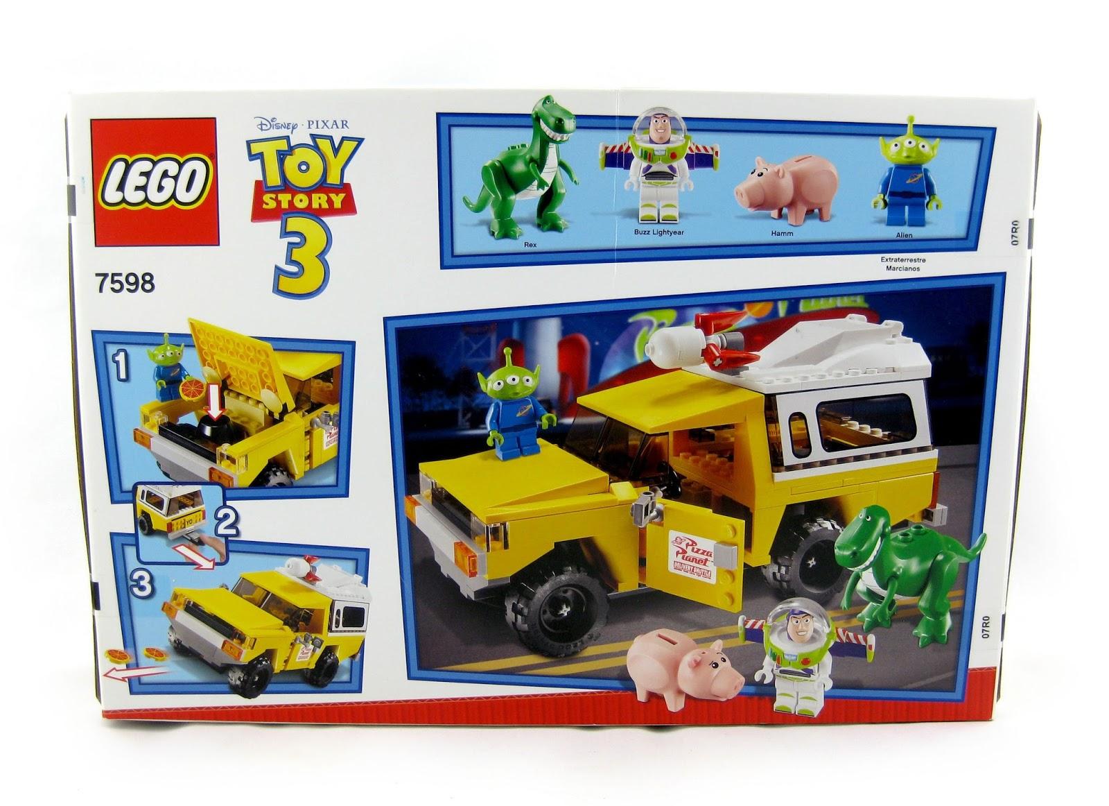 Dan The Pixar Fan Toy Story 2 Lego Pizza Planet Truck