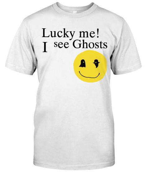 Lucky me I see Ghosts Hoodie Sweatshirt Sweater Crewneck Jacket T Shirts
