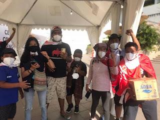 43 Hari Jalan Kaki dari Toba, Para Aksi Tutup TPL Tiba di Jakarta