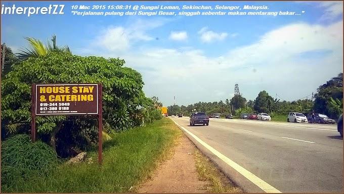 House stay dan catering Kampung Sungai Leman, Sekinchan