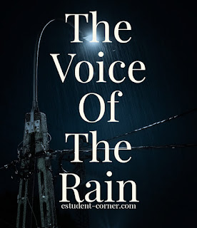 AHSEC | Class 11 English | The Voice Of The Rain Notes | Questions Answers | NCERT