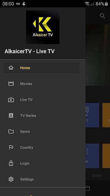 تحميل الاصدار الاخير من تطبيق ALKAICER TV لمشاهدة اشهر القنوات العربية الرياضية على هاتفك الأندرويد