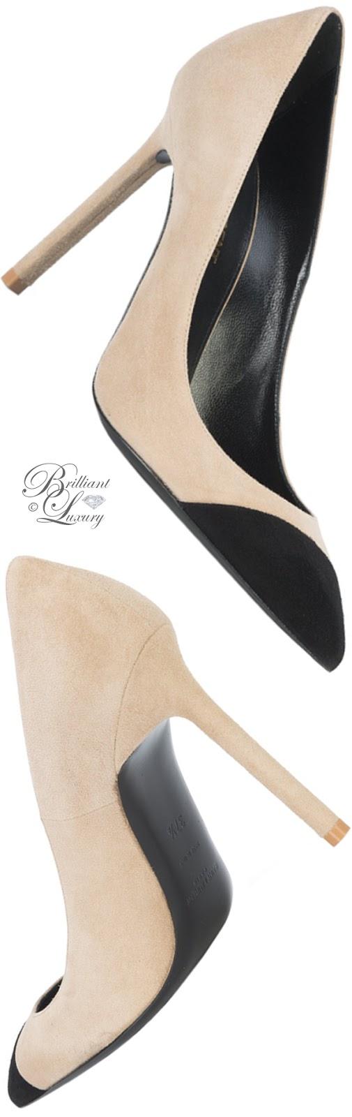 Brilliant Luxury ♦ Saint Laurent Anja pumps