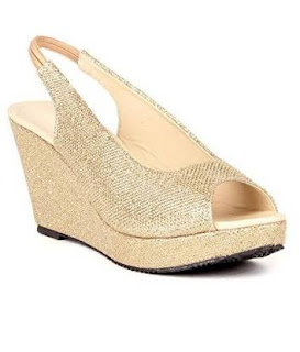 Gold Wedges Unbeatable Wedding Shoes Shoes Footwear