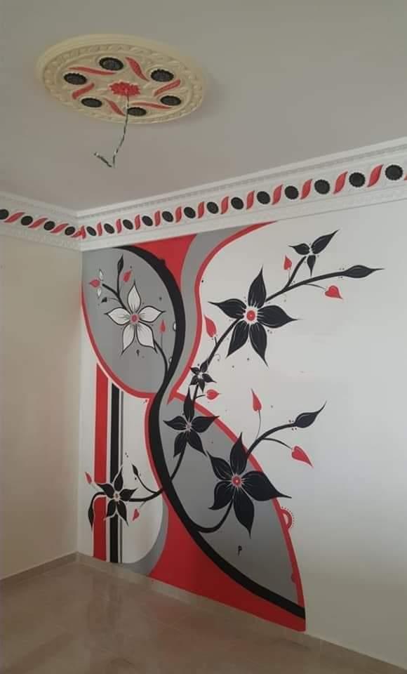 peinture decorative  جديد ديكور الصباغة2021