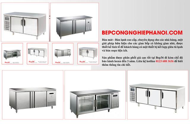 Bàn mát, bàn lạnh chuyên dụng cho nhà hàng giá rẻ