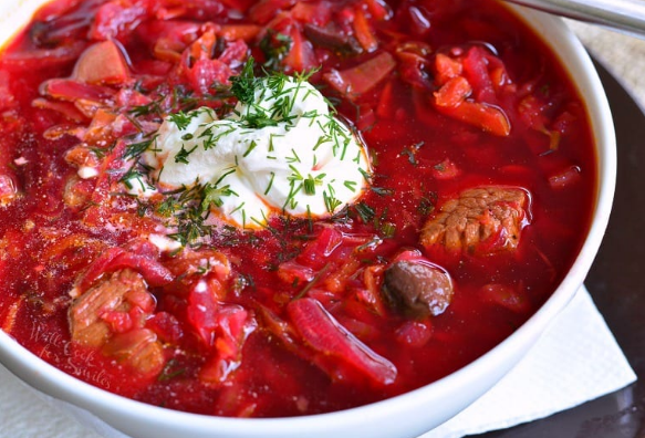 RUSSIAN BORSCHT RECIPE #recipes #dinner #breakfast #food #easy
