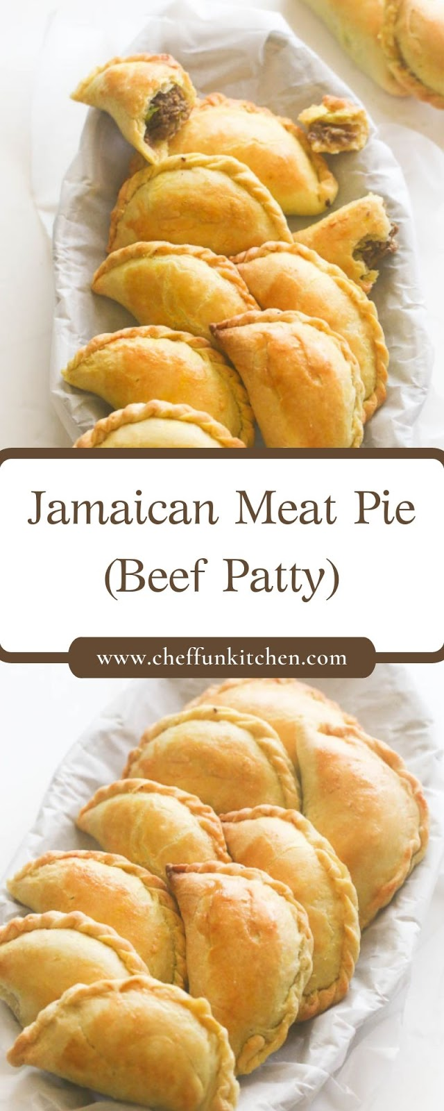 Jamaican Meat Pie (Beef Patty)